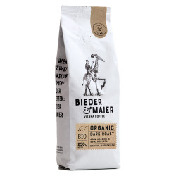 "Kaffeebohnen Bieder & Maier ""ORGANIC DARK ROAST"", 250 g"