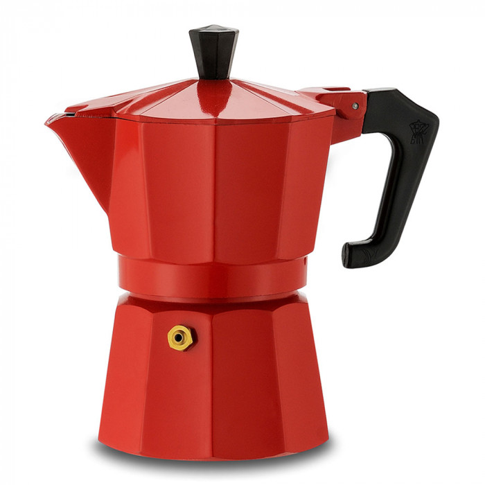 "Coffee maker Pezzetti ""Italexpress 3-cup Red"""
