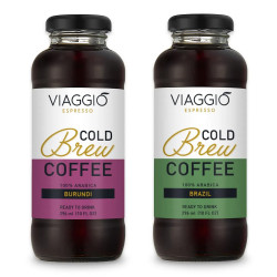 "Cold brew coffee Viaggio Espresso ""Cold Brew Burundi + Brazil"", 592 ml"