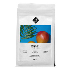 """Kaffeebohnen 19 grams """"Iyego AA Kenya Kaffee"""", 1 kg"""