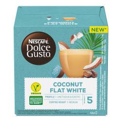 "Kohvikapslid sobivad Dolce Gusto® masinatele NESCAFÉ Dolce Gusto ""Coconut Flat White"", 12 tk."