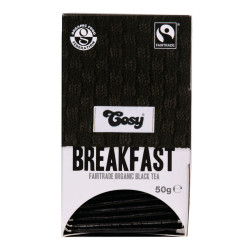 "Arbata Cosy ""Breakfast Organic Fairtrade"", 20 vnt."