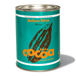 "Organic cocoa Becks Cacao ""Before Nine"" with mint, 250 g"
