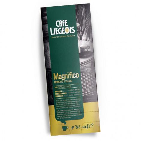 """Kahvitabletit Café Liégeois """"Magnifico"""", 25 kpl."""