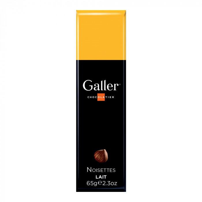 """Šokoladinis batonėlis Galler """"Milk Hazelnuts"""", 1 vnt."""