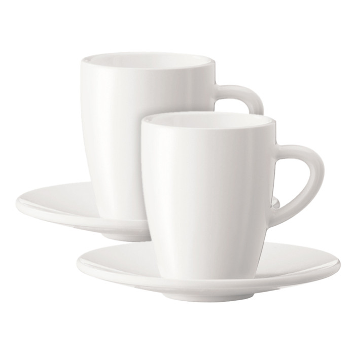 Coffee cup with a plate JURA (2 pc)