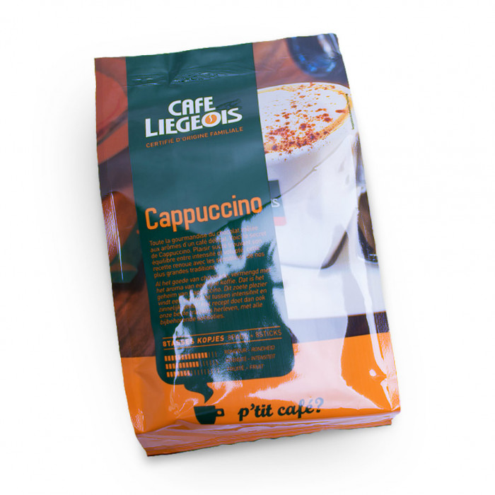 "Coffee pads Café Liegeois ""Cappuccino"""