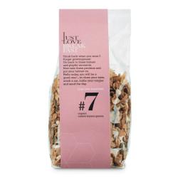 """Luomu granola, cashewpähkinä ja banaani IJLB """"#7"""", 250 g"""