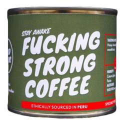 "Coffee beans Fucking Strong Coffee ""Peru"", 250 g"
