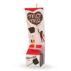 "Karstā šokolāde MoMe ""Flowpack Dark"", 40 g"