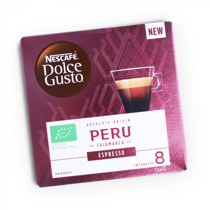 "Kavos kapsulės NESCAFÉ Dolce Gusto ""Espresso Peru"", 12 vnt."