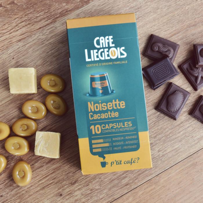 """Kawa w kapsułkach Café Liégeois """"Noisette"""", 10 szt."""