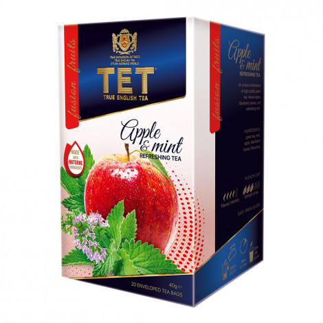 "Tea True English Tea ""Apple & Mint"", 20 pcs."