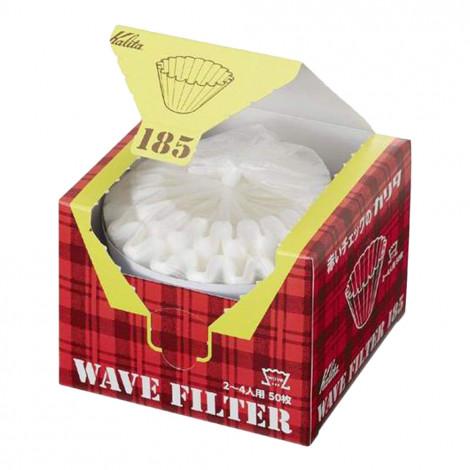 "Paper filters Kalita ""Wave #185 White"", 50 pcs."