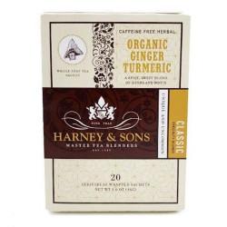 "Tēja Harney & Sons ""Organic Ginger Turmeric"", 20 gab."