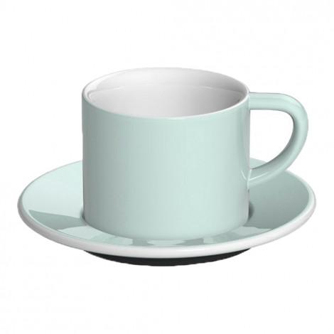 """Cappuccino krūzīte ar apakštasīti """"Bond River Blue"""", 150 ml"""