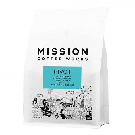 """Coffee beans Mission Coffee Works """"Pivot"""", 1 kg"""
