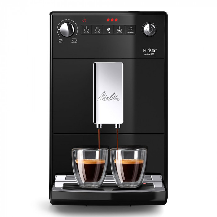 "Ekspres do kawy Melitta ""Purista Series 300 Black"""