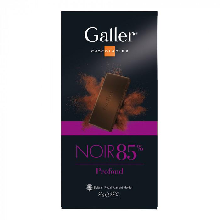 "Šokolādes tāfelīte Galler ""Dark 85%"", 80 g"