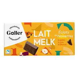 """Šokoladas Galler """"Lait Profond Eclats de Noisettes"""", 150 g"""