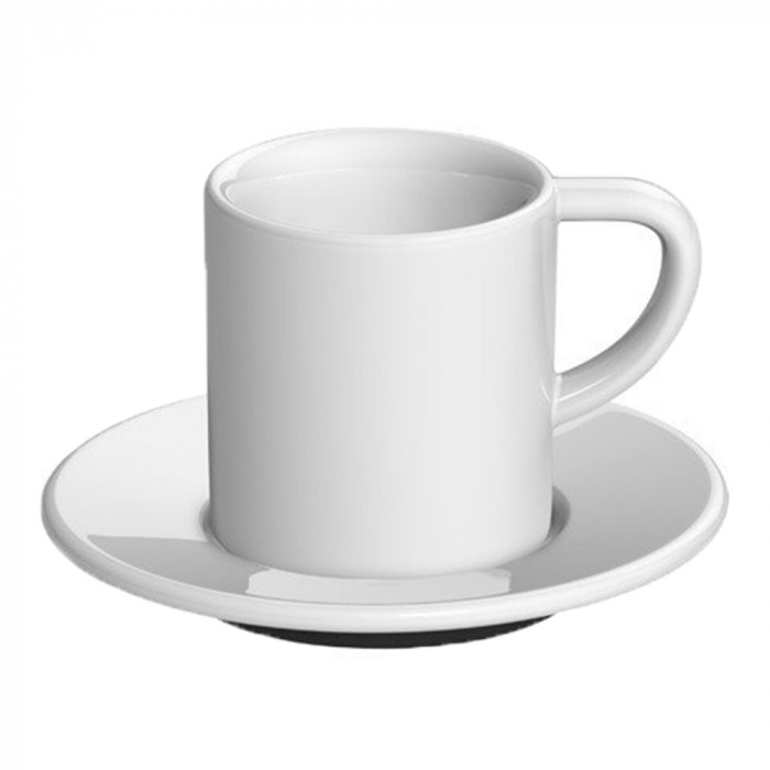 "Espresso cup with a saucer Loveramics ""Bond White"", 80 ml"