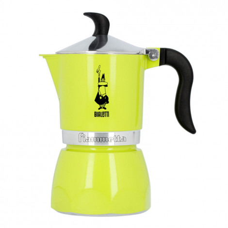 """Kafijas pagatavotājs """"Fiametta 3-cup Lime"""""""
