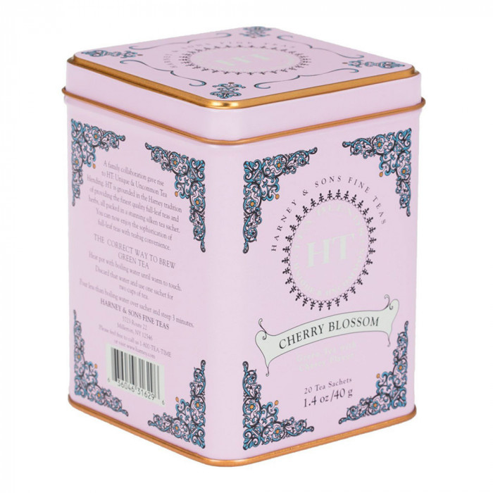 "Green tea Harney & Sons ""Cherry blossom"", 20 pcs."