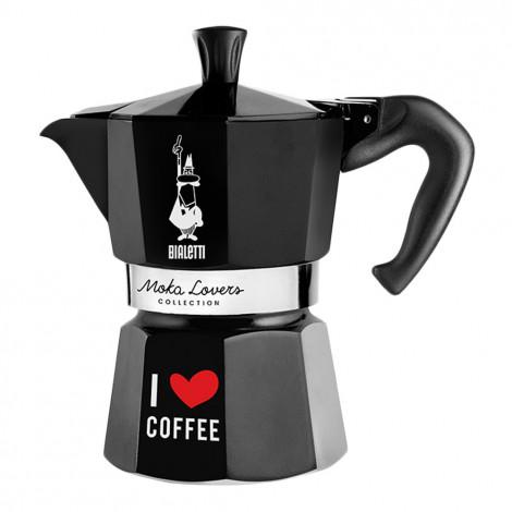 "Coffee maker Bialetti ""Moka Lovers 3-cup Black"""