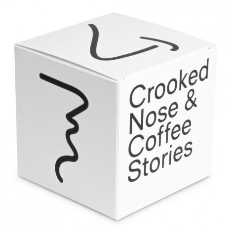 """Kafijas pupiņas Crooked Nose """"Brazil Santos"""", 200 g"""