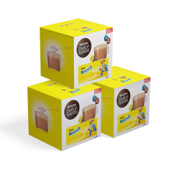 """Coffee capsules compatible with Dolce Gusto® set NESCAFÉ Dolce Gusto """"Nesquik"""", 3 x 16 pcs."""