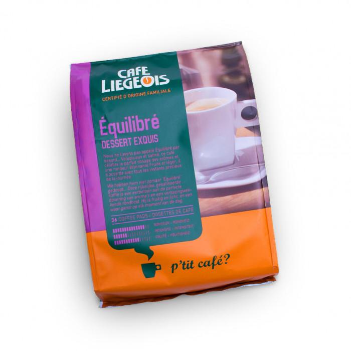 "Kavos pagalvėlės Café Liégeois ""Équilibré"", 36 vnt."