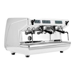 "Kavos aparatas Nuova Simonelli ""Appia Life V White 230V"", 2 grupių"