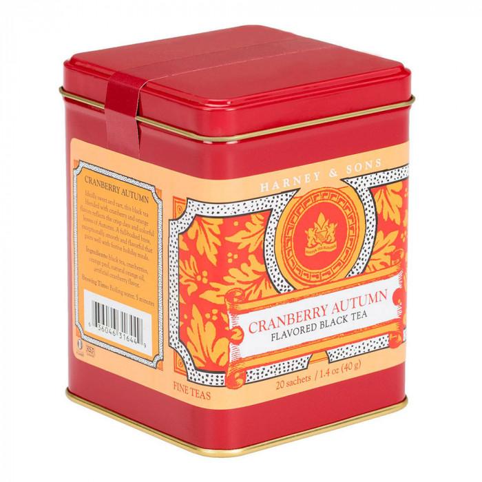"Tee Harney & Sons ""Cranberry Autumn"", 20 kpl."