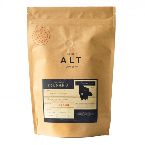 "Coffee beans Altitude Coffee ""Colombia"", 250 g"