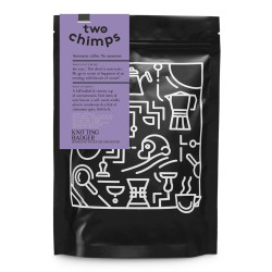 """Coffee beans Two Chimps """"Knitting Badger"""", 250 g"""