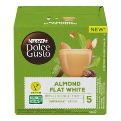 """Kohvikapslid sobivad Dolce Gusto® masinatele NESCAFÉ Dolce Gusto """"Almond Flat White"""", 12 tk."""