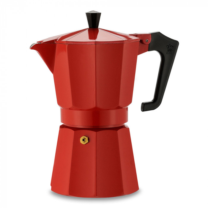 "Coffee maker Pezzetti ""Italexpress 6-cup Red"""