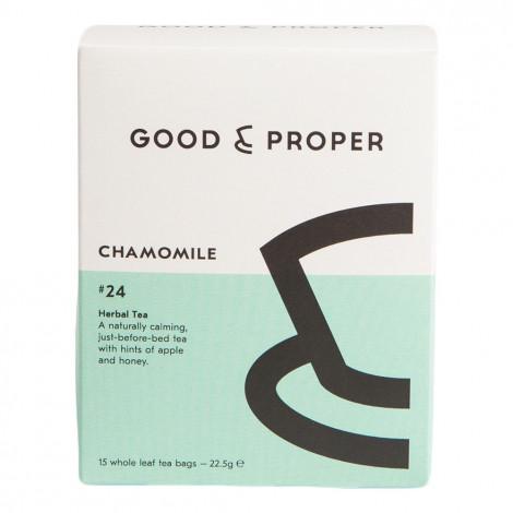 """Tea Good & Proper """"Chamomile"""", 15 pcs."""