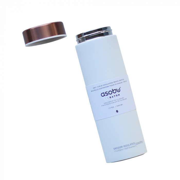 "Termospudel Asobu ""Le Baton Copper"", 500 ml"