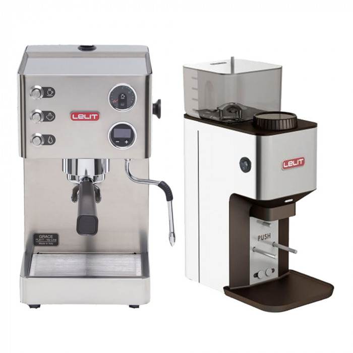 "Kaffeemaschine Lelit ""Grace PL81T"" + ""William PL71"""