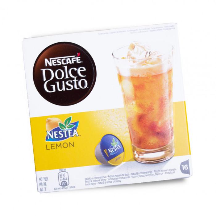 "Arbatos kapsulės Nescafe Dolce Gusto ""Nestea Lemon"", 16 vnt."