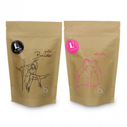"Kaffeebohnen-Set ""Life & Coffee CAFE CREME Set"", 2 x 1 kg"