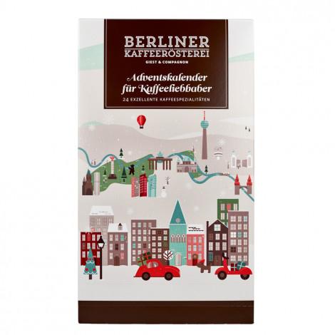 "Berliner Kaffeerösterei ""BKR-Kaffee-Adventskalender 2020"" (gemahlen), 24 x 50 g"
