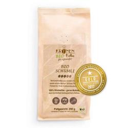 """Kaffeebohnen Kronen Kaffee """"Bio Schümli"""" 250 g"""