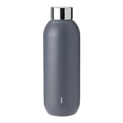 "Wasserflasche Stelton ""Keep Cool Granite Grey"", 0,6 l"