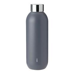 "Ūdens pudele Stelton ""Keep Cool Granite Grey"" , 0,6 l"