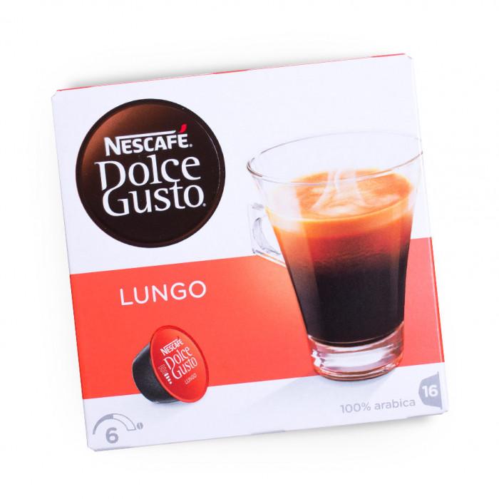 "Kahvikapselit NESCAFÉ Dolce Gusto ""Lungo"", 16 kpl."