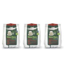 "Kaffeekapseln geeignet für Nespresso®-Set Café Liégeois ""Mano Mano Puissant"", 3 x 10 Stk."