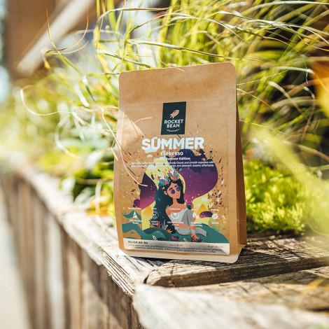 """Specializētās kafijas pupiņas Rocket Bean Roastery """"SUMMER"""" Espresso Limited Summer Edition 500g"""