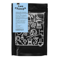 """Coffee beans Two Chimps """"Canoeing in a Cornish Pasty"""", 250 g"""